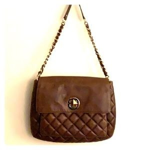 Kate spade Charlize Gold Coast quilted bag EUC